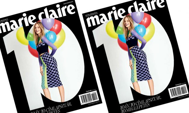 Hungarian edition of Marie Claire turns 10 years old