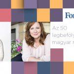 A Central Médiacsoport két vezetője is a legbefolyásosabb nők listáján